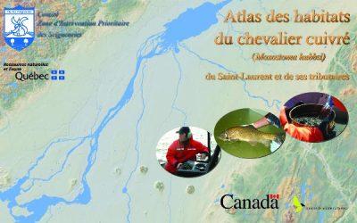 Atlas des habitats du Chevalier cuivré (Moxostoma hubbsi) du Saint-Laurent et de ses tributaires (2006)