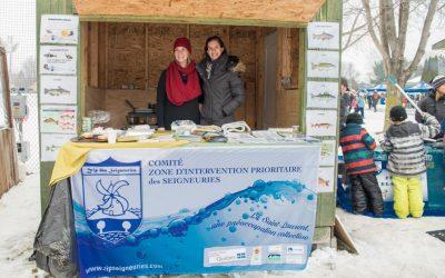 Le comité ZIP des Seigneuries au festival Féérie d'hiver de Lavaltrie
